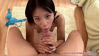 japanese Zoe Sucks A phat spear