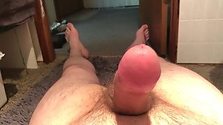 Leg quivering prostate orgasam