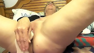 Blonde milf teasing for the camera, hotwife ,