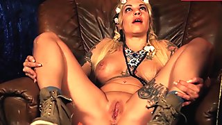 LETSDOEIT - Horny Tattoed German Teen Squirts In Her First S&M Session