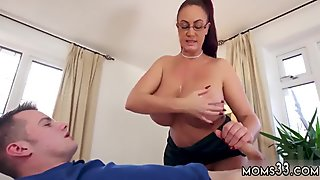 Big tit brunette milf dildo Big Tit Step-Mom Gets a Massage