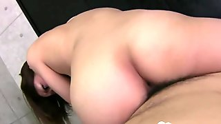 Asian beauty cannot have enough of his dick