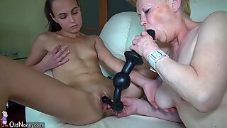 Oldnanny баба и тийн лезбийки toysex