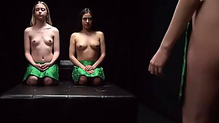 MormonGirlz-Four young babes oil massage