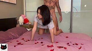 Hot asian couple