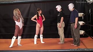 Japanese Femdom Camel Clutch Submission and Ponyboy