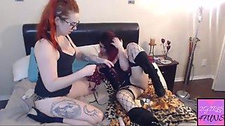 Lesbians after work funs!!#2girls4funs