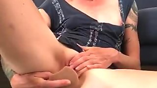 Cumming on the Floor DP with Toys