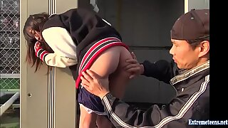 Jav Amateur Maeda Fucks On Rooftop In The Winter Uncensored Outdoors Exhibitionist