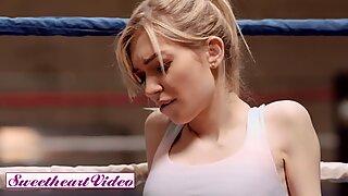Sweetheart Video - Athleti lesbian strapon fucks skinny blonde