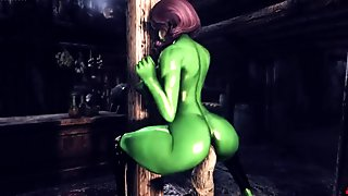 Manzana Enjoy Dildo Tower  Komotor Animations  Skyrim Porn